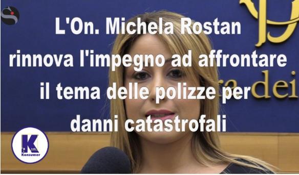 Michela Rostan danni catastrofali