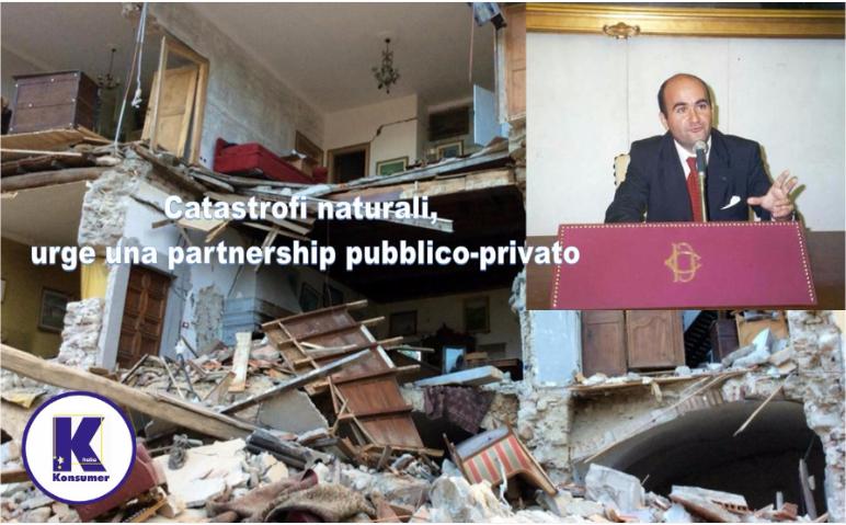catastrofi naturali konsumer partenrship pubblico privato