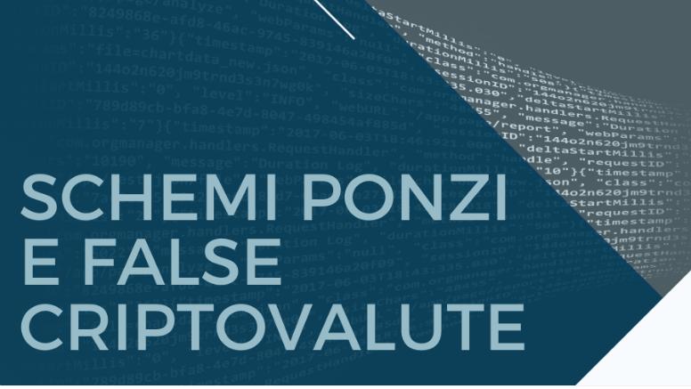 schemi Ponzi criptovalute Konsumer