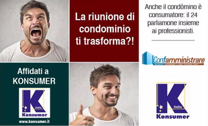liti condominio tutela consumatore Konsumer Italia