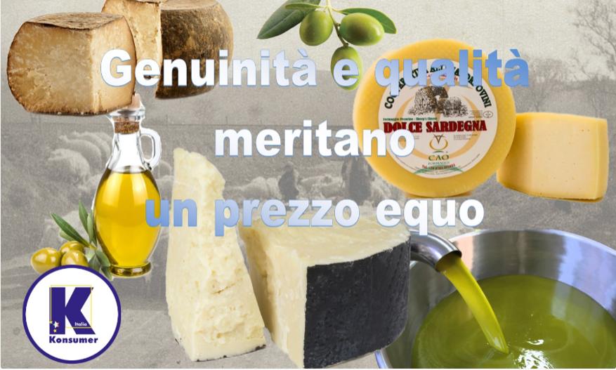 latte olio Konsumer