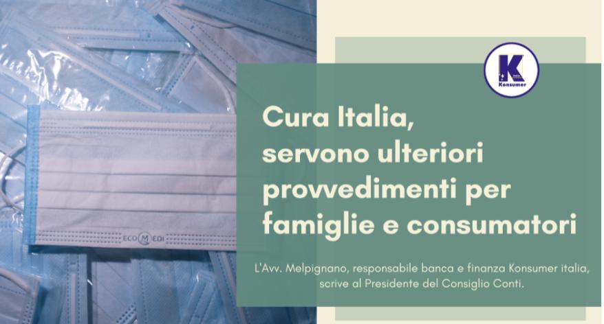 cura Italia recupero crediti Konsumer Giuseppe Conte