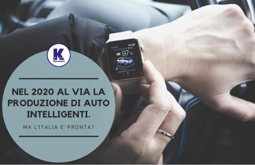 2020 auto intelligenti Italia Konsumer