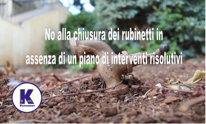 siccità crisi idrica roma acea Konsumer