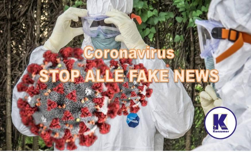 coronavirus fake news diritti dei consumatori Konsumer