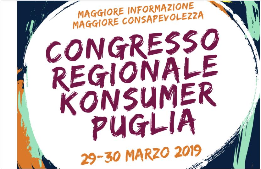 congresso regionale Konsumer Puglia
