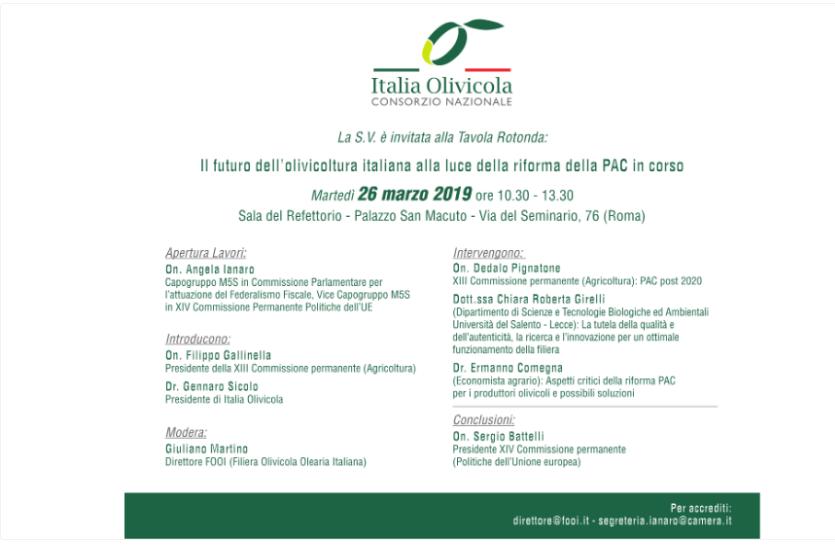 politica agricola comune pac olivicoltura italiana Konsumer