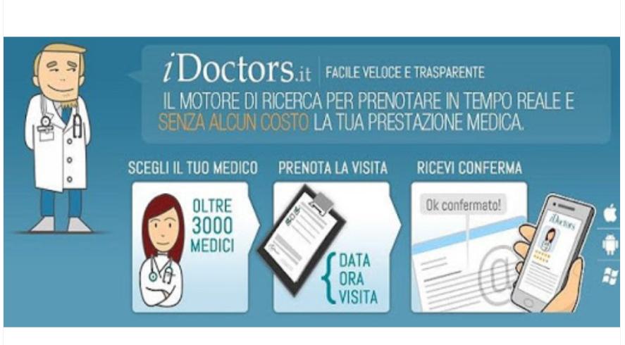 IDoctors piattaforma prenota online il medico