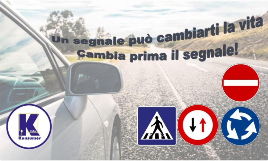 sicurezza stradale konsumer segnaletica