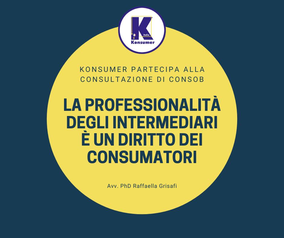 konsumer partecipa trattative consab associazione consumatori