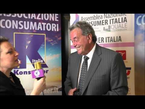 KOnsumer difesa dei consumatori intervista Giampaolo Petri