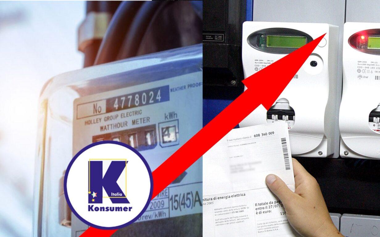 aumentobollette covid non giusto arera konsumer associazione consumatori