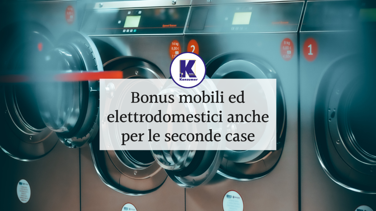 bonus mobili elettrodomestici konsumer associazione consumatori