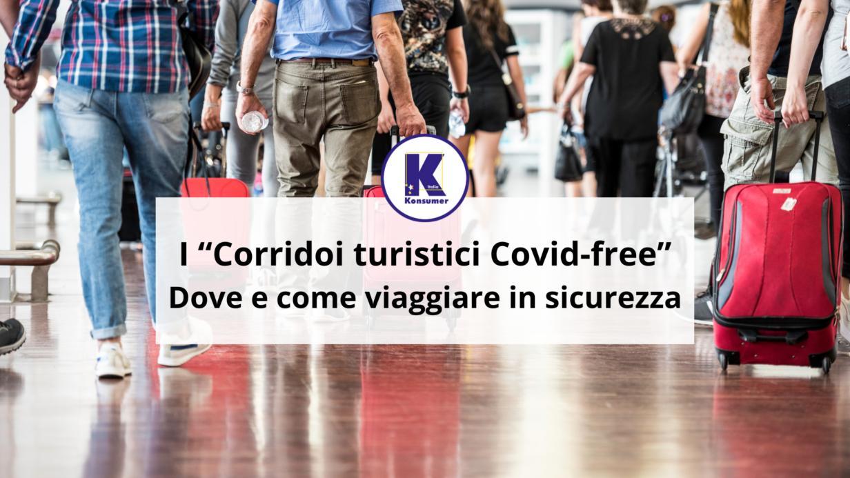 corridoi turistici covid free